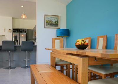 Open plan living area at Shepley
