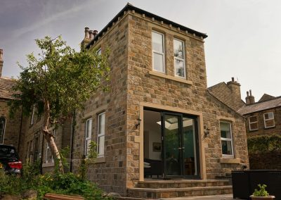 Stone extension at Shepley