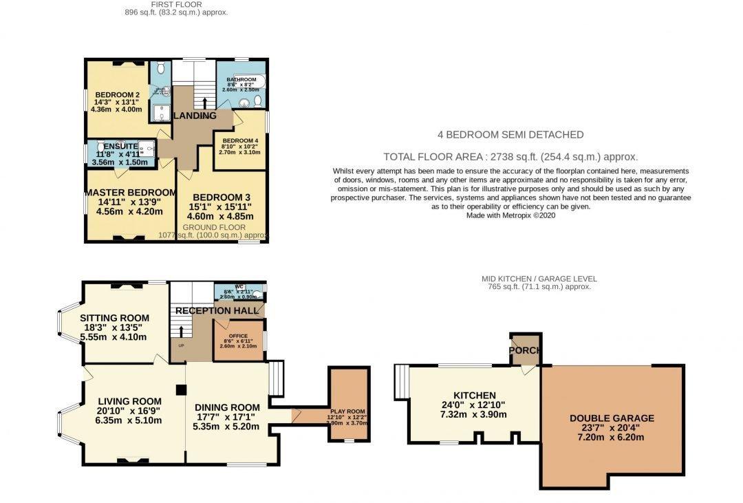 Highfield House - Floorplan