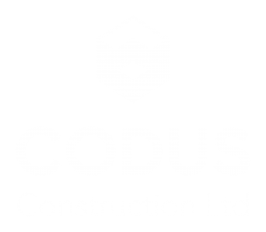 This is the logo for Codus Construction Ltd